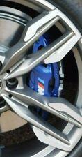 BMW OEM G01 X3 G02 X4 G20 3 Series M Blue Brembo Front Brake Caliper Pair New