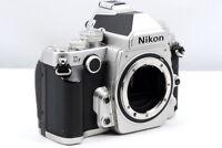 Nikon Df Silver 16.2 MP DSLR Digital Camera Body from Japan [EX+++]