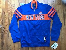 2011 Vintage Adidas On Court New York Knicks HWC Walter Brown Cup Warmup Sz M