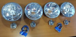 BMW E28 USA version sealed beam upgrade to Euro halogen complete Kit