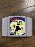Gex 64 Enter The Gecko N64 Nintendo 64 Authentic and Tested! Works Great!
