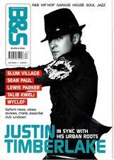 Justin Timberlake on Blues & Soul Magazine Cover 2002   Sean Paul   Slum Village