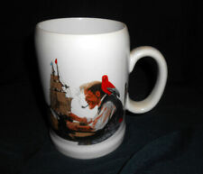 New ListingNorman Rockwell Mug Cup Stein - The Captain & First Mate 1985