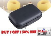Mini Portable Earphone Data USB Cable Travel Case Organizer Pouch Storage Bag