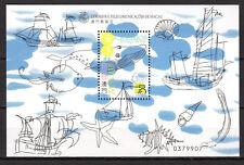 Macau - 1999 Ocean life / Ships - Mi. Bl. 64 MNH
