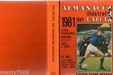 ALMANACCO ILLUSTRATO DEL CALCIO 1981=PANINI MODENA=