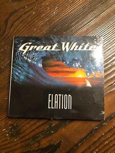 GREAT WHITE-ELATION- HARD ROCK-NEW SEALED CD