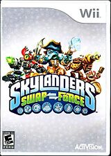 *Nintendo Wii Activision Skylanders Swap Force Game Case Art WiiU Compatible U👾