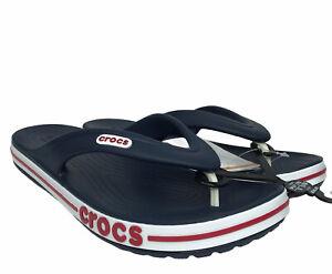 Crocs Men's Bayaband Flip comfy stylish sandals water friendly & Lightweight 12