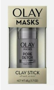 OLAY Masks Clay Stick bundle:  Glow Boost and Pore Detox - 1.7 oz each