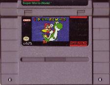 SUPER MARIO WORLD SYSTEM SNES SUPER NINTENDO GAME MARIO YOSHI NES HQ