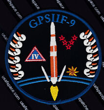 GPS IIF-6 DELTA IV Launch USAF ULA 5 SLS CCAFS SATELLITE Launch SPACE PATCH
