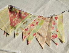 Shabby chic Bunting flags or banner for child's bedroom, garden, birthday
