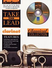 "TAKE THE LEAD ""CLARINET"" CLASSICAL COLLECTION MUSIC BOOK/CD-BRAND NEW ON SALE!!"