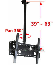 Tilt Swivel LCD LED Plasma TV Ceiling Mount 39 40 42 43 46 47 50 55 60 65 70 B86