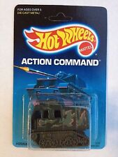HOT WHEELS ACTION COMMAND ASSAULT CRAWLER no.3338 UNPUNCHED Card in Great Shape