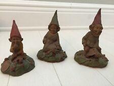Tom Clark Gnomes Pokey '83, Jennie '83, Eddie '83 on Turtles (Pokey-broken nose)
