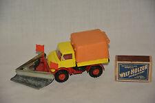 Corgi toys Unimog 406 con quitanieves mercedes snow Plug