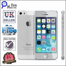 Apple iPhone 5s - 32GB - Silver (Unlocked) Smartphone
