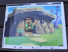Original Flintstones Barney Rubble Animation Art Production Cel Hanna-Barbera