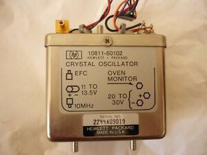 HEWLETT-PACKARD 10811-60102 10MHz Frequency Standard Oscillator OCXO HP Agilent