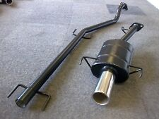 """VAUXHALL ASTRA Mk4 SPORTS EXHAUST SYSTEM 98-2001 ASTRA G 4"""" Tip"""