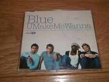 BLUE - U MAKE ME WANNA - CD SINGLE - UK FREEPOST