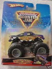 Look 2017 Monster Jam 25 3/6 Flashback Ice Truck Bandiera Hot Wheels