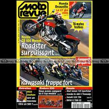 MOTO REVUE N°3316 HONDA CB 600 HORNET 650 DEAUVILLE SUZUKI GSX 750 DR 800 S 1998