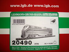 Lgb 20490.76 Amtrak Genesis Diesel Loco Original Box & Foam Inserts Only! New!