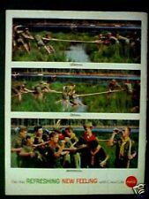 1962 Coca-Cola Soda-Pop Boy Scouts Tug of War Coke Memorabilia Trade Promo Ad