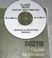 Fluke 8021B Dmm Operating & Service Manual