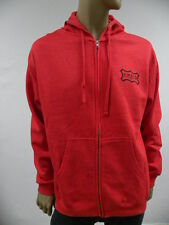 Ambiguous Red Ambig Sz L Hoodie Sweater Jacket  Skate Long Sleeve