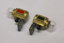 SH-2.1 MTH Diecast Headlights w/Bulbs/Contacts for Lionel O Gauge Locos, 2 Pcs