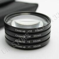 55MM Close Up Macro Lens Kit for Canon Rebel DSLR T4i T3 T3i T2i T1i SL1