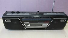 Used Panasonic FM14 Portable Stereo Boombox RX-FM14 Project AS IS