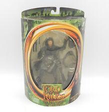 ToyBiz - The Lord of the Rings Aragorn Actionfigur - MOC Neu vergilbt / yellowed