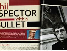 PHIL SPECTOR: murder case as reported on in Playboy magazine 6/03 (nudity within