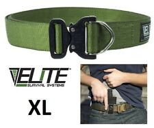 ELITE Cobra Rigger's Belt with D Ring Buckle CRB-O-XL Olive Drab X-Large NEW