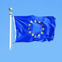 90×150cm European Union Flag 3x5ft Polyester EU Hanging Flying Banner Home Decor