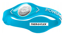 TURQUOISE POWER BALANCE NEGATIVE ION ENERGY HEALTH BRACELET BAND - SIZE LARGE