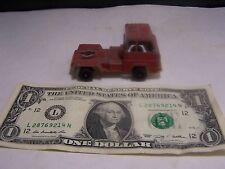 Tootsie Toy Vintage Red Semi-Truck