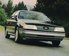 Big 1986 Ford TAURUS Brochure / Catalog w/ Color Chart: L,GL,LX,MT5,MT-5,Wagon