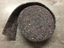 FELT WOOL PIPE INSULATION LAGGING 15MM & 22MM  STITCHED 1 X  7.3M ROLL