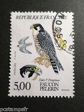 FRANCE 1984, timbre 2340, ANIMAUX, OISEAUX, FAUCON PELERIN, oblitéré, BIRD STAMP