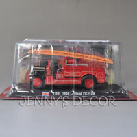 Diecast 1:50 1934 Leyland FK-1 Pumper Model Toys UK Fire Engine Truck Replica