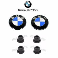 BMW Z3 Side Grille Emblem GENUINE Roundel KITs (x2) Fender Badge Insignia Logo