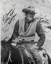 Jack Elam signed authentic guaranteed 10 x 8 = 25 x 20 cm inscribed to Jessica