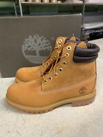 NIB Men's Timberland Work Boot Wheat Nubuck TB073540 231 6 in Premium PK SZ