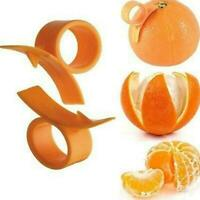 Orange Lemon Citrus Opener Peeler Plastic Cutter Slicer Gadget Tools T4R1